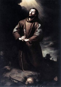 St. Francis Praying